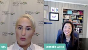 Livestream interview by Bridget Burns (University Innovation Alliance)