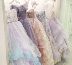 Pastel Beaded Gowns