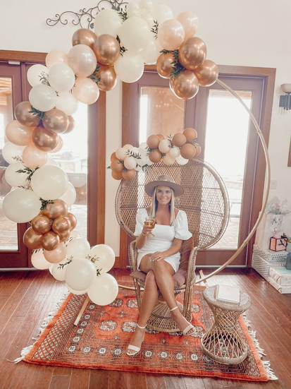 Boho Bridal Shower Balloons