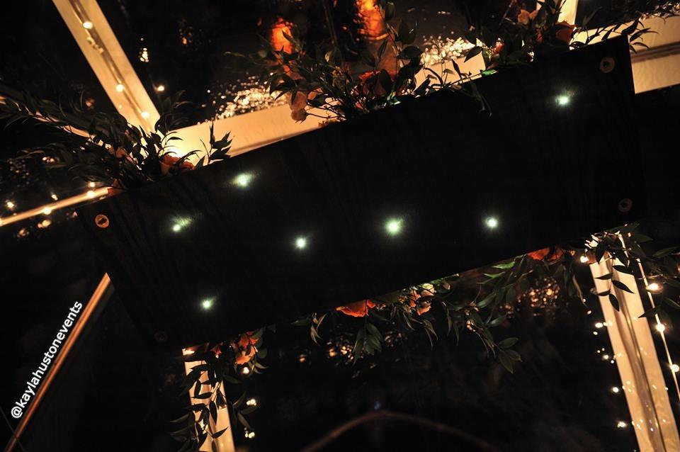 Lighted Constellation Chandelier