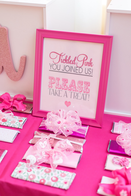 Kayla Huston Events Custom Candy Bar Favors: Baby Shower