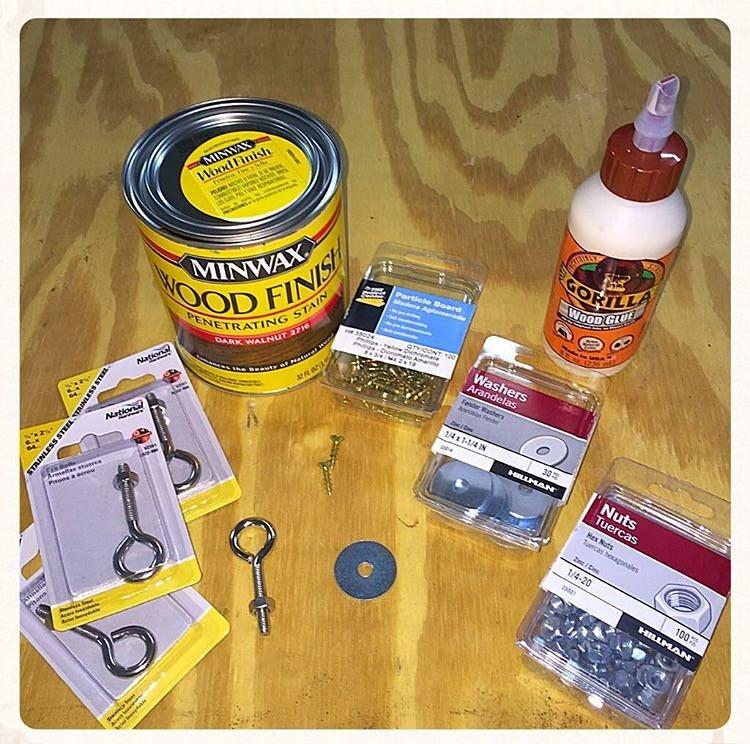 DIY supplies