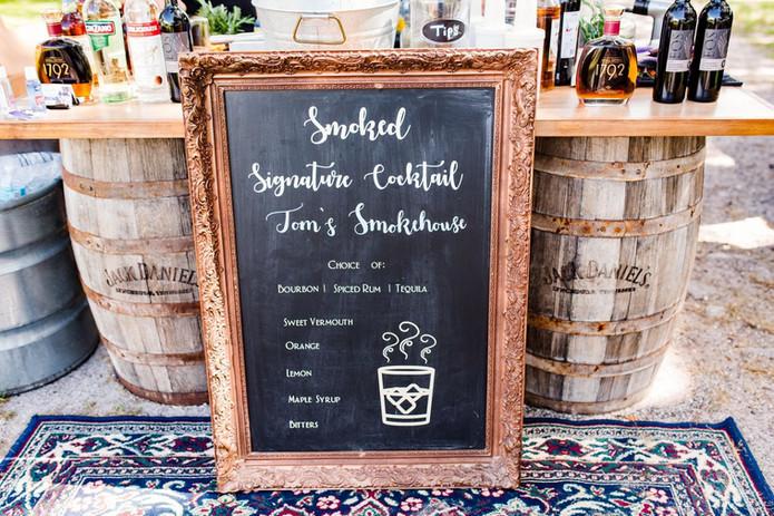 Smoked Signature Cocktail