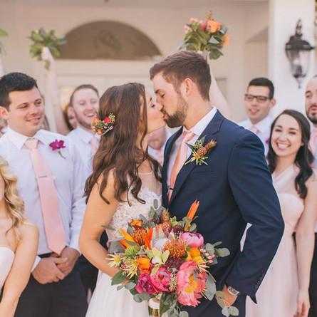 MADDY + ALEX | Modern Tropical Wedding | Private Estate | Melbourne Beach, FL