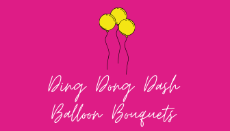 Ding Dong Dash Balloon Bouquets
