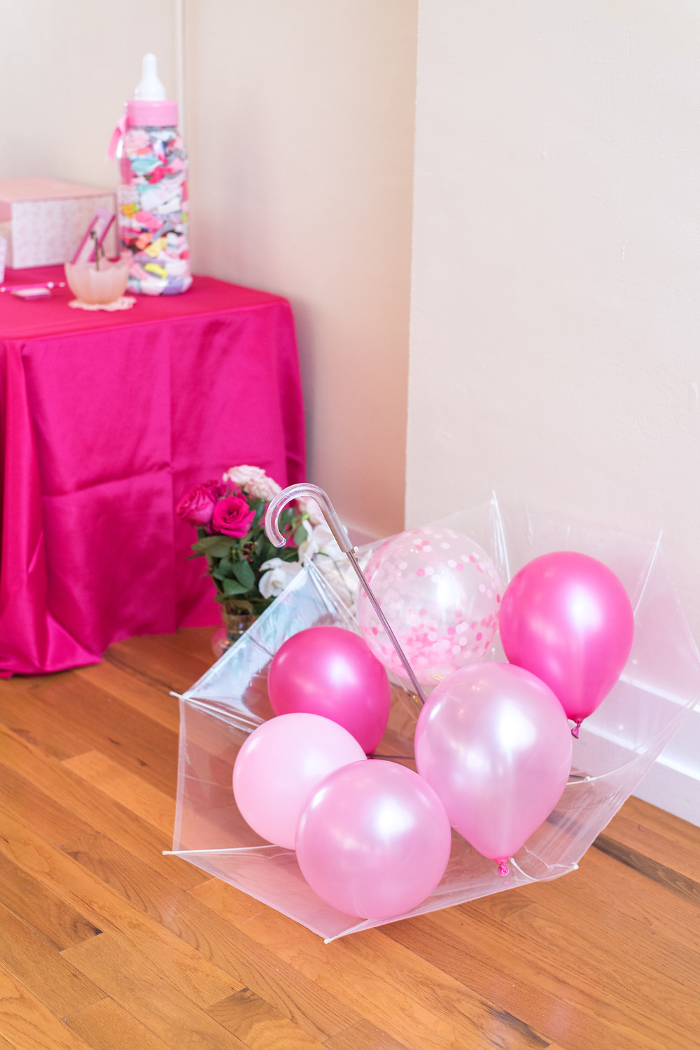 Kayla Huston Events: Umbrella Baby Shower Balloons