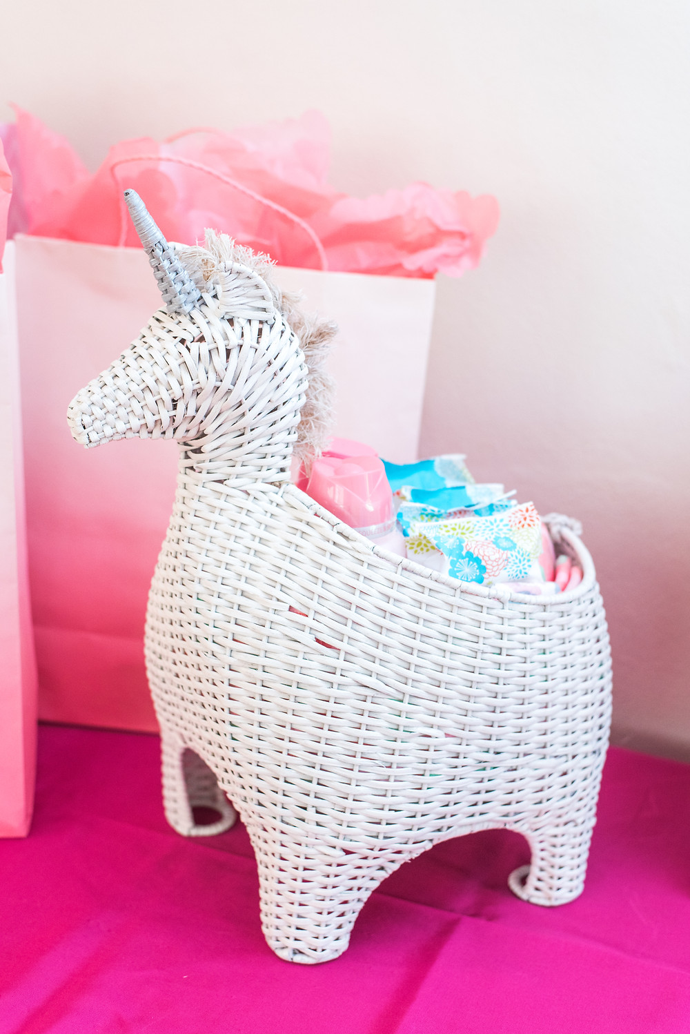 Pottery Barn Kids Unicorn Basket