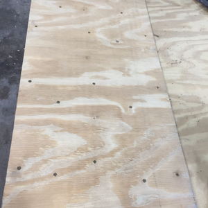 Glued and screwed - Step 3