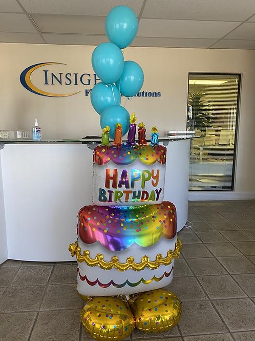 Jumbo Birthday Cake Bundle