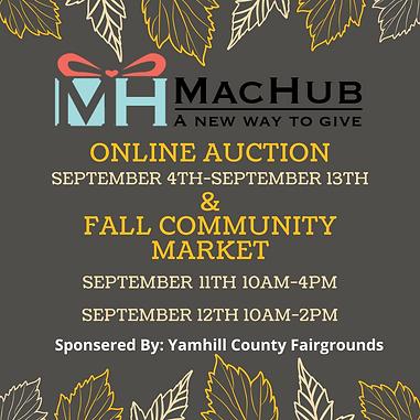 MacHub's online auction & Fall Community