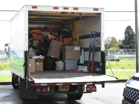 Our Pickup Service Relieves the Stress of Downsizing