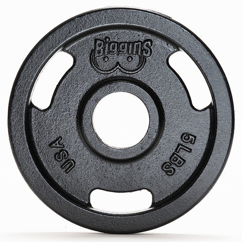 IN STOCK - PAIR - 5lbs - Machined Cast Iron Training Plate