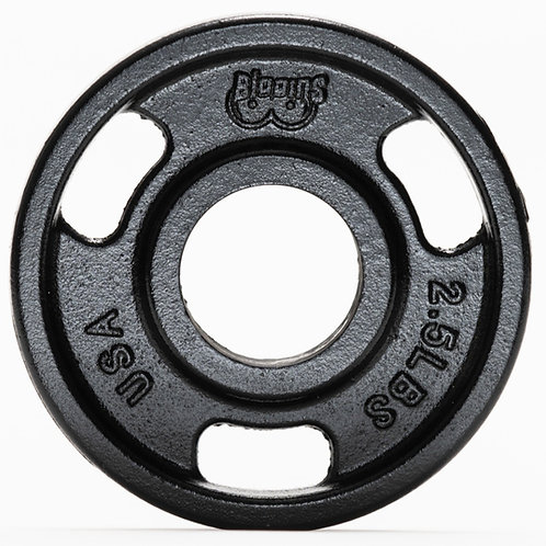 IN STOCK- PAIR - 2.5lbs - Machined Cast Iron Training Plate