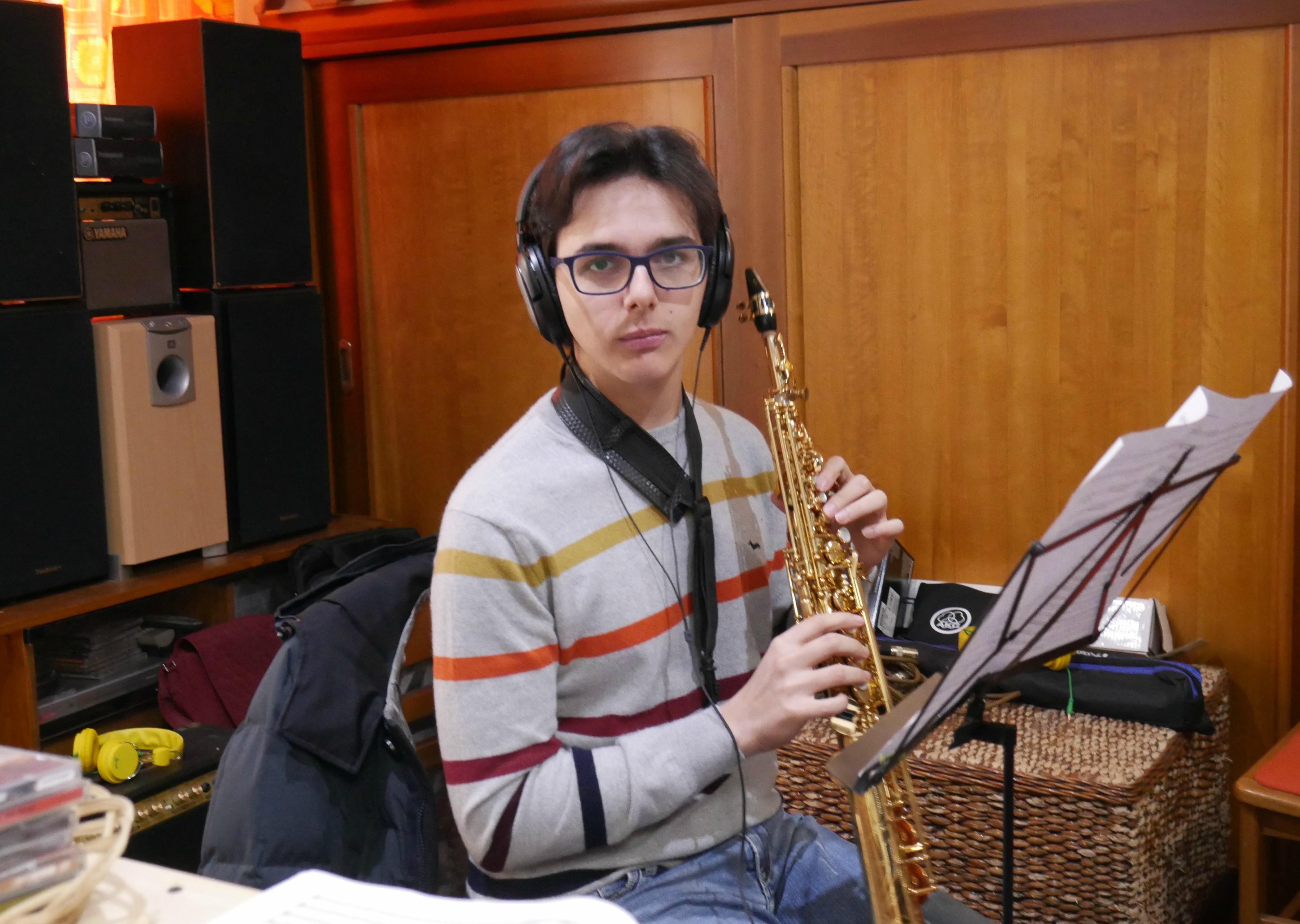 Musicista al Sax Soprano