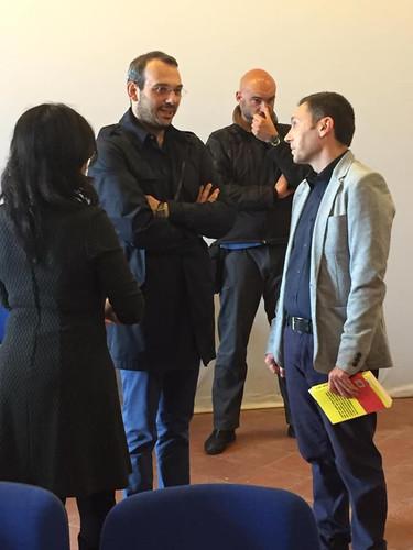Paolo Borrometi e Maurizio Castagna