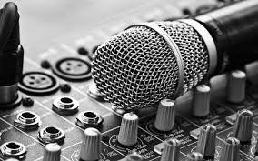 Microfono su Mixer
