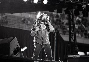 Bob Marley in concerto a Milano nel 1980