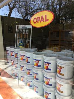 Vidriera de Opal