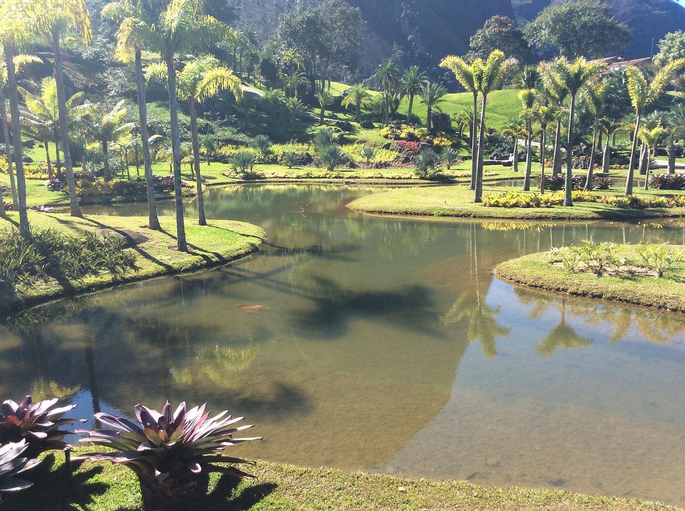 construção lago artificial Rio de Janeir
