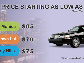 Get Excellent Deals in Car Services at Los Angeles