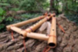 Triple Drone Native American Flute