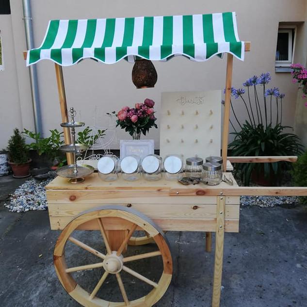 Candybar- Marktwagen