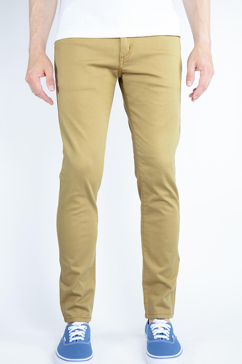 Super Skinny Chino Pants (Camel)