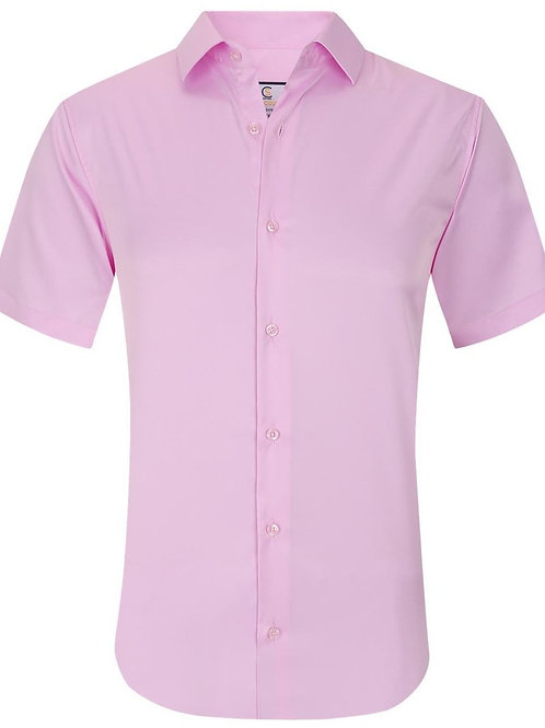 Basic Solid Stretch Pink