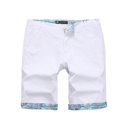 Floral Boundary White