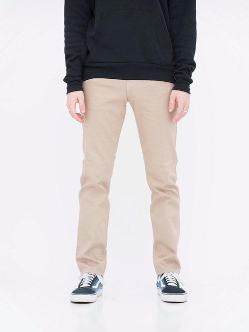Skinny Denim Pants (Khaki)