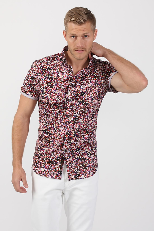 Colourful Sparks Fitted Shirt