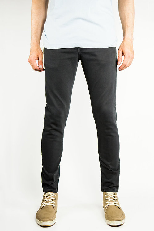 Supper Skinny Chino Pants (Black)