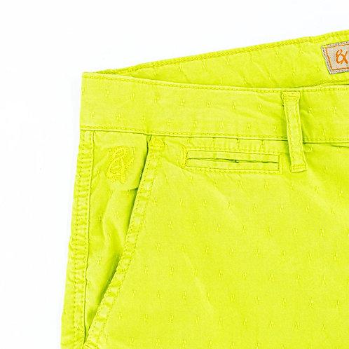 Carlo Jacquard Shorts - Green