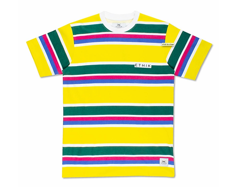 Cape May Striped Tee (Yellow)