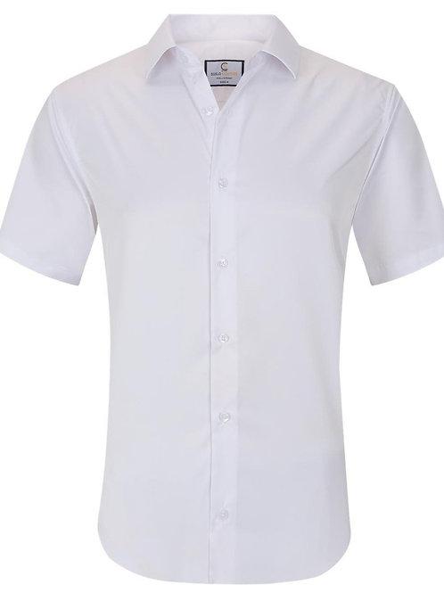 Basic Solid Stretch White