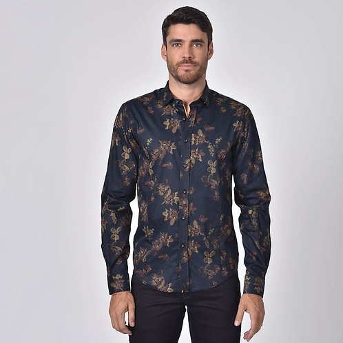 Nightingale Print Fitted Shirt