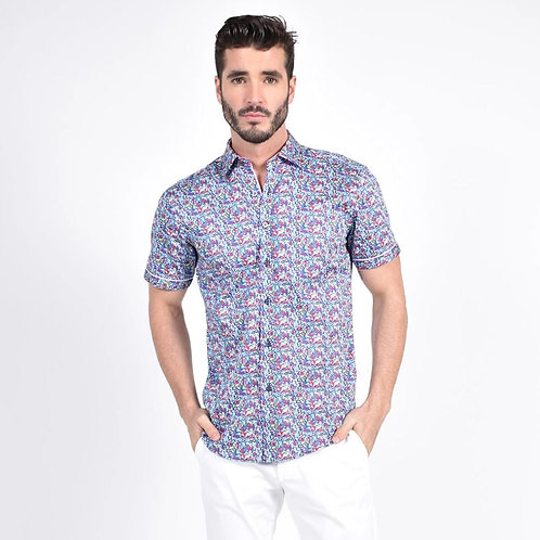 Blossom Medley Print Fitted Shirt