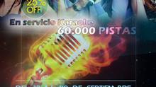En Septiembre 25% Dcto Servicio Karaoke