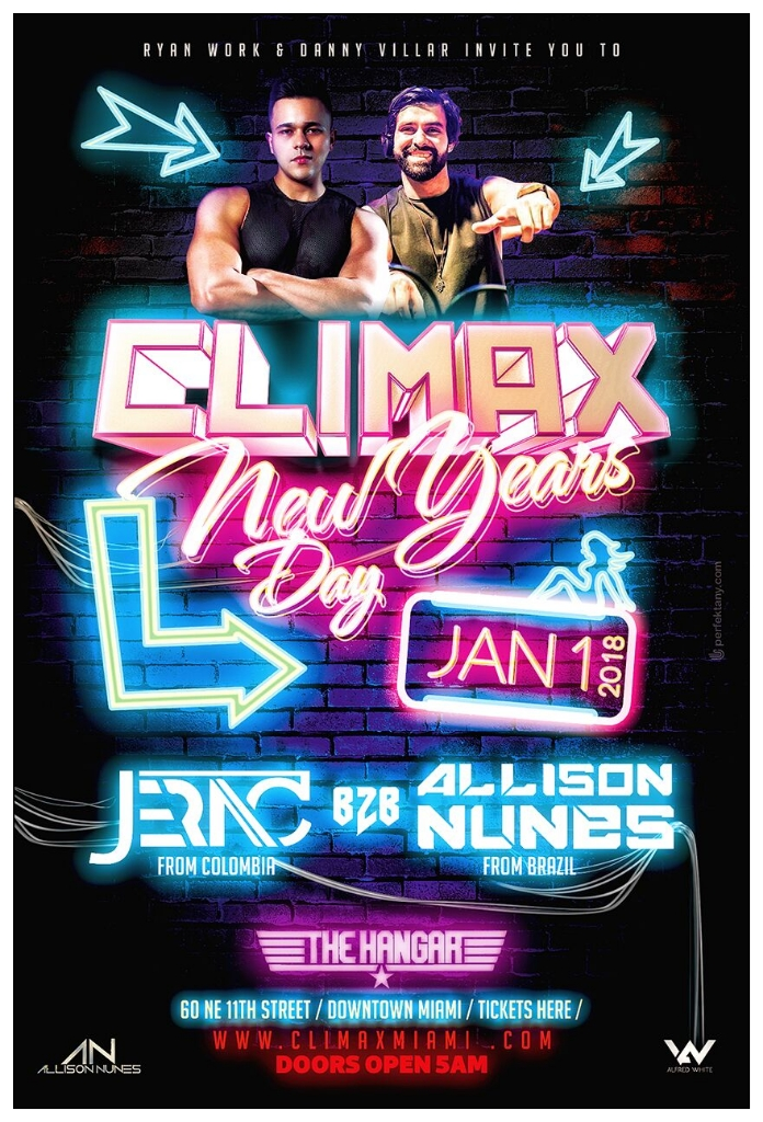 CLIMAX NYD
