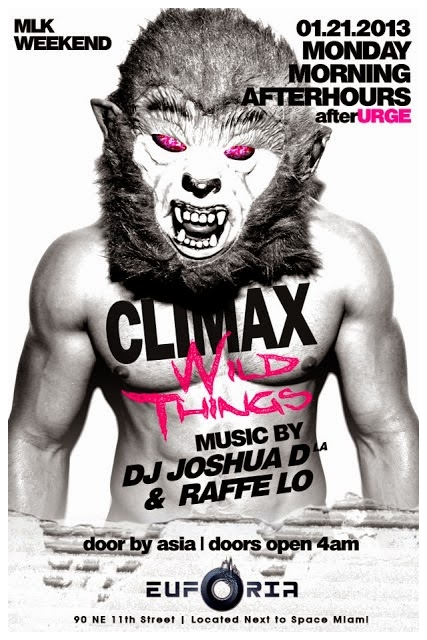 CLIMAX WILD THINGS