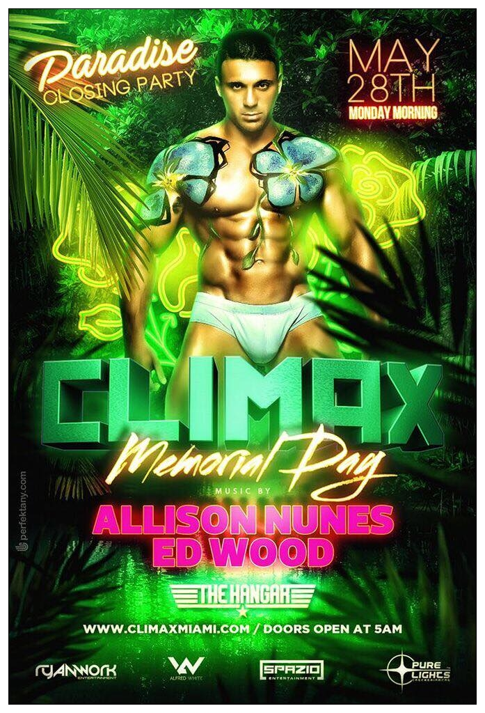 CLIMAX MDW