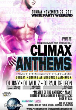 CLIMAX ANTHEMS