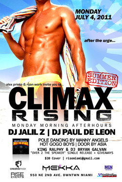 CLIMAX RISING