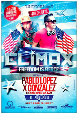 CLIMAX 4th Of July