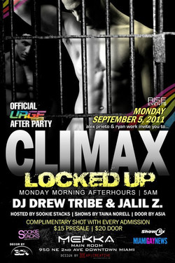 CLIMAX LOCKED UP