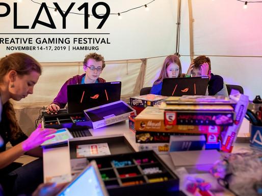 Spieldesign und Medienpädagogik erleben und mitgestalten: das PLAY Festival 2019 in Hamburg