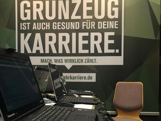 Was macht eigentlich die Bundeswehr auf der Gamescom?