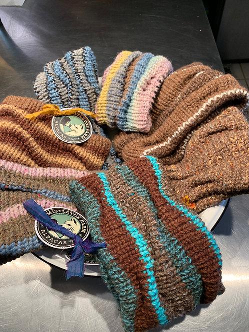 Hand-Knitted Alpaca Ear warmers
