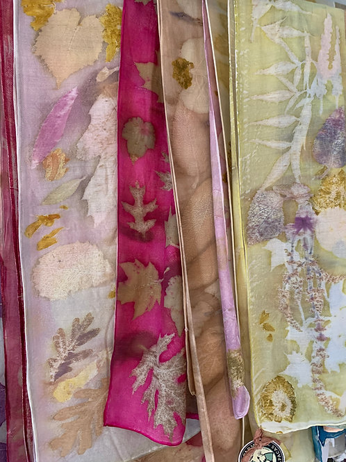 Eco Silk Printed Scarves