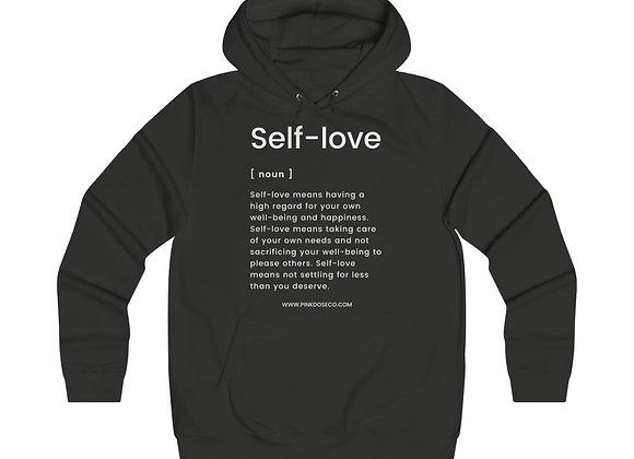 Self Love Girlie College Hoodie